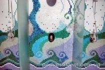 Отделка ванной плиткой-мозаикой