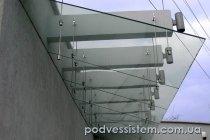 Стеклянный навес