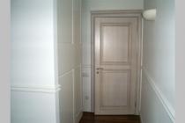 Дверь деревянная белая из ясеня