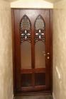 Межкомнатная дверь с витражом