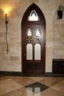 Дверь с аркой вверху